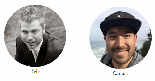 Kyle and Carson - founders of Wealthy Affiliate