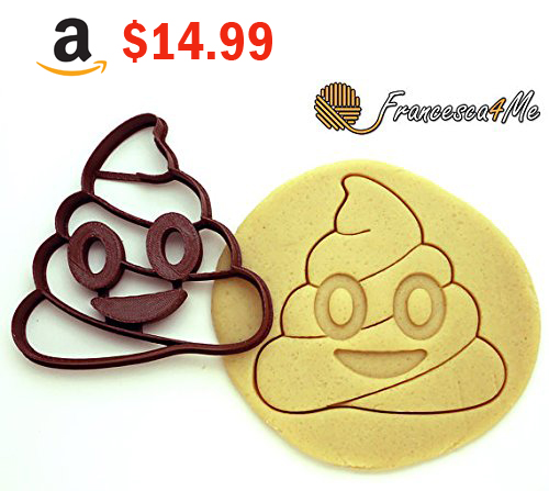 Purchase the Pop Emoji Cookie Cutter on Amazon - Make a Living from Home in 2017