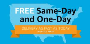 Same Day Shipping Is Here For Amazon Prime Members! Make A Living From Home