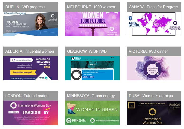 2018 International Women's Day Events - Make A Living From Home
