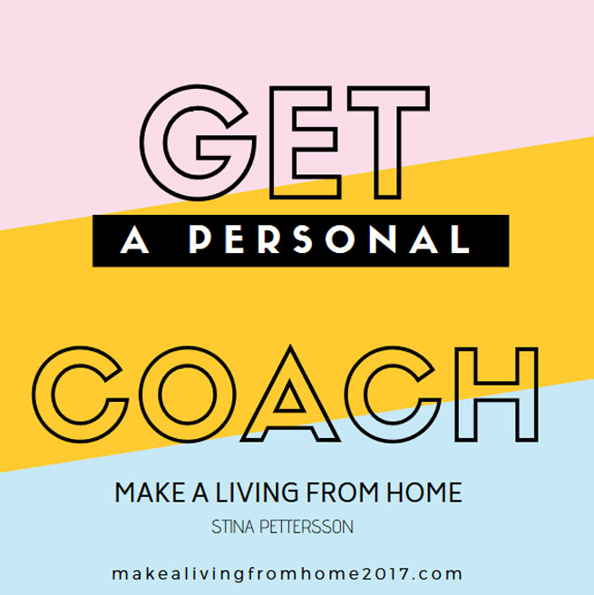 Personal Coach Stina Pettersson - Make A Living From Home
