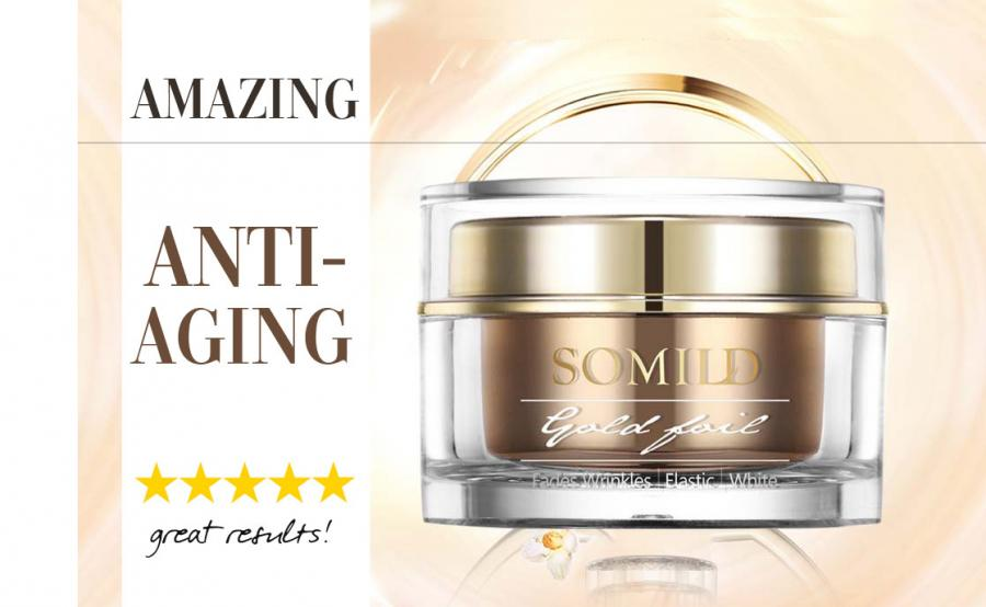 Anti Aging Cream With 24K Gold And Snail Extract - Sold By Get Happy e-Deals