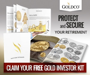 Claim your free gold investor kit - Goldco Precious Metals
