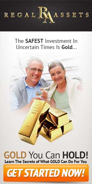 The safest investment in uncertain times is gold - Regal Assets