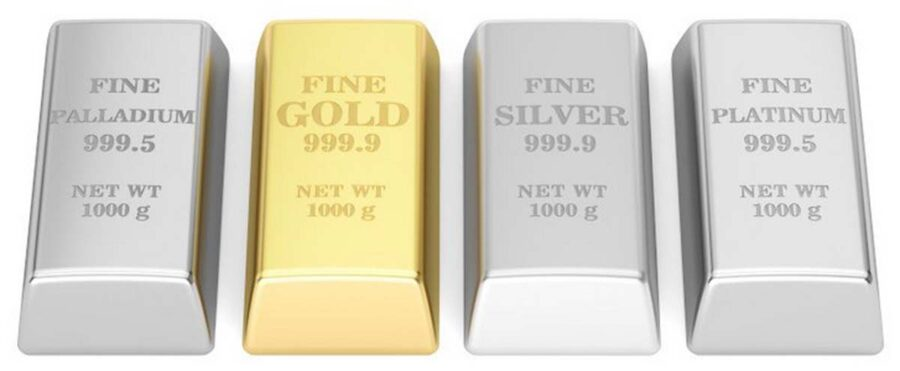 Bullion bars offered by Goldco Precious Metals